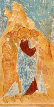 Проклятие смоковницы Фреска Ферапонтова монастыря